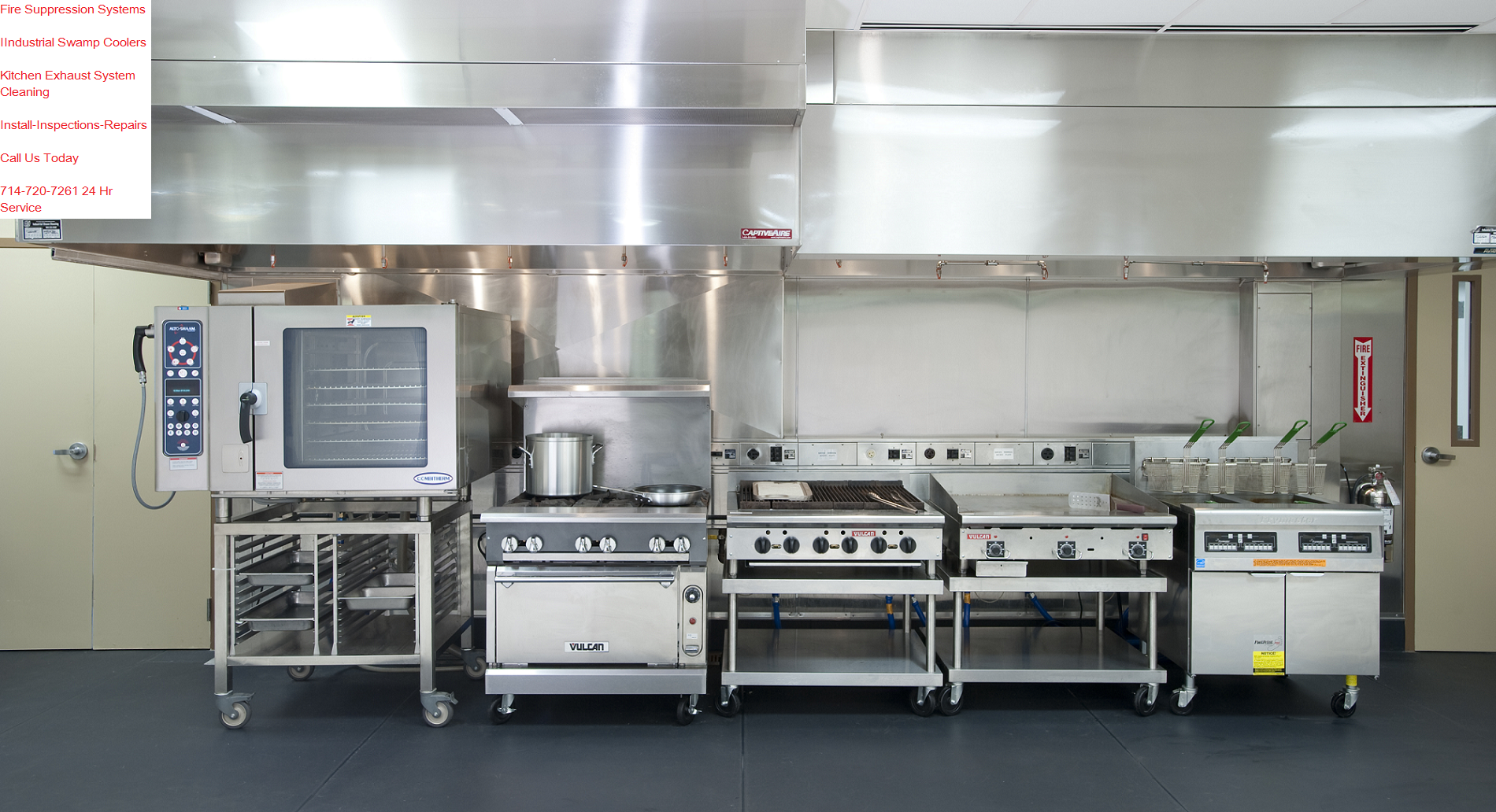 Restaurant Kitchen Ventilation drs hoods 386-225-5915 | drs hoods uses proven methods for